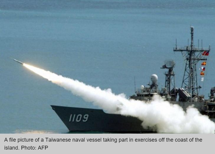 La Chine imposera des sanctions contre les entreprises américaines impliquées dans la vente d'armes à Taïwan annoncée hier par Washington.