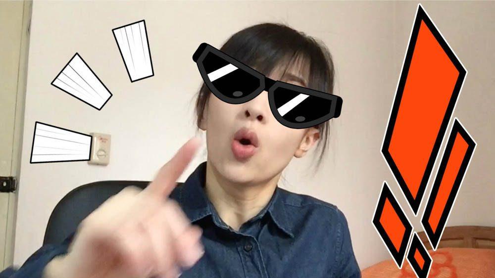 Papi Jiang est une comédienne chinoise célèbre pour ces podcasts mettant en scène la vie quotidienne.