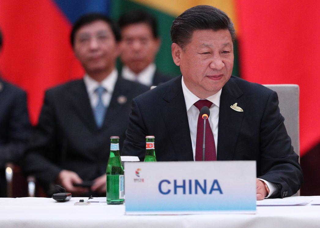 Le président chinois Xi Jinping au G20 le 7 juillet 2017.