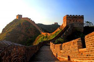 La Grande Muraille près de Pékin, en 2007. (Crédit : WANG SHUQING / IMAGINECHINA via AFP)