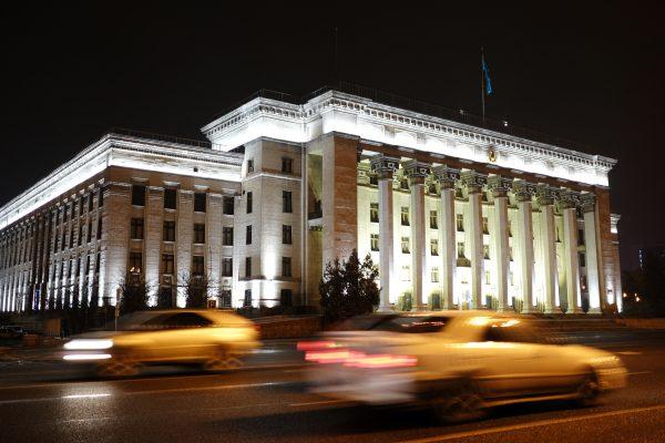 La Kazakh-British Technical University à Almaty au Kazakhstan, le 18 décembre 2016. (Crédits : Nikolay Hiznyak/Sputnik/via AFP)