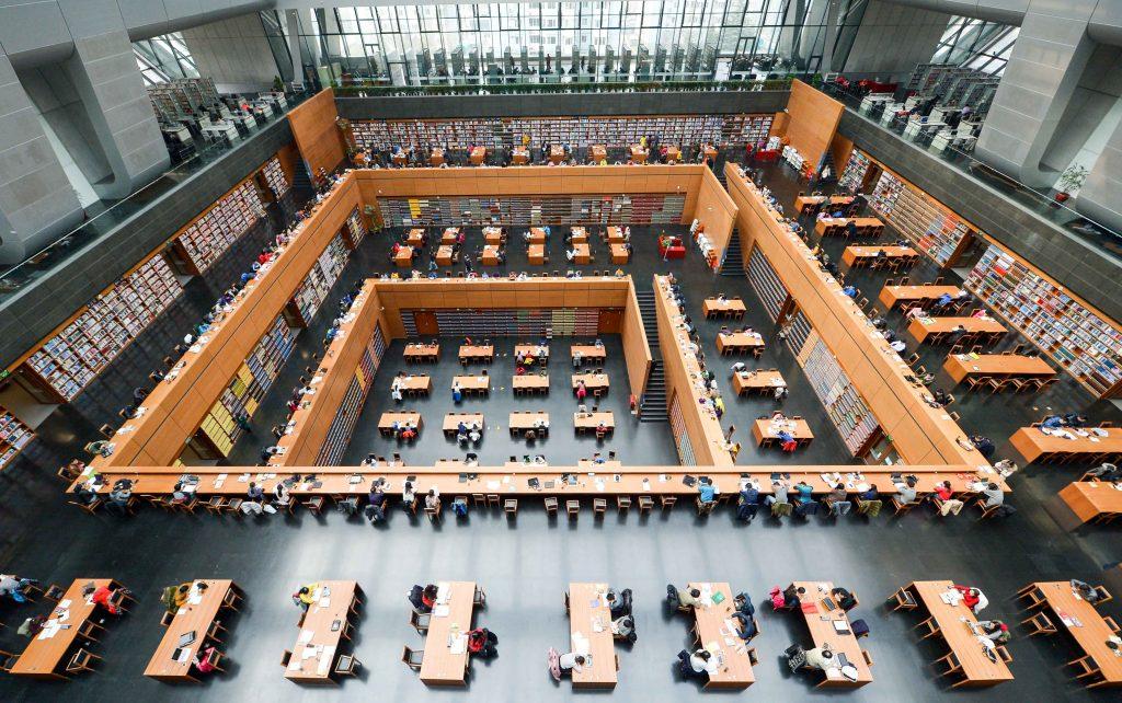 La Chine va-t-elle censurer l'ensemble des revues académiques occidentales sur Internet comme dans ses bibliothèques ? (Crédits : Pan zhiwang / Imaginechina / via AFP)