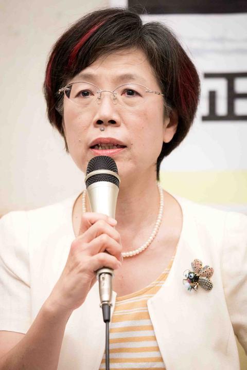 Yu Mei-nu, députée du parti démocrate-progessiste à Taïwan, a été l'initiatrice de la première proposition de loi en faveur du mariage pour tous. (Crédits : DR)