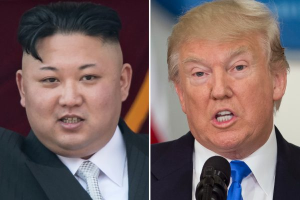 Jusqu'où Donald Trump est-il capable d'aller face à Kim Jong-un ? (Crédits : AFP PHOTO / SAUL LOEB AND Ed JONES)
