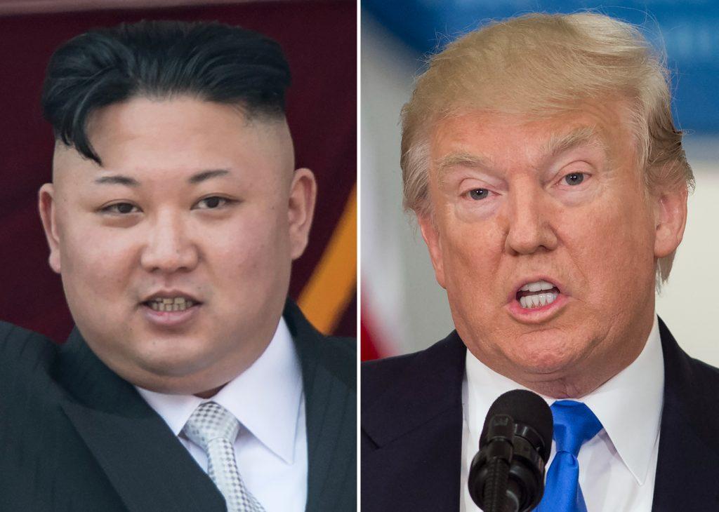 Jusqu'où Donald Trump est-il capable d'aller face à Kim Jong-un ? (Crédits : AFP PHOTO / SAUL LOEB AND Ed JONES)