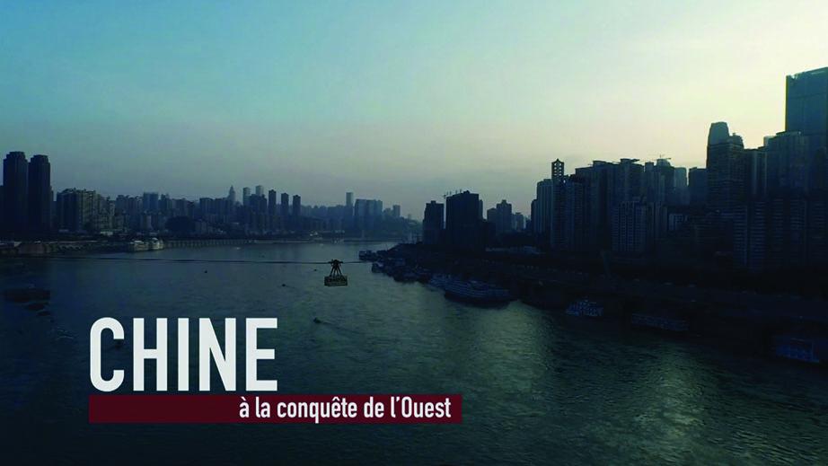 """""""Chine, à la conquête de l'Ouest"""", un film documentaire diffusé sur Arte le 10 octobre à 22h35, réalisé par Laurent Bouit et co-écrit avec Pierre Thiessen et Nicolas Sridi. (Crédit : Morgan)"""