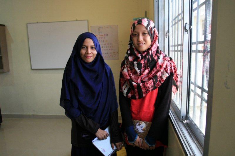 Enseignantes de l'école de Human Aid. (Copyright : Marine Vial)