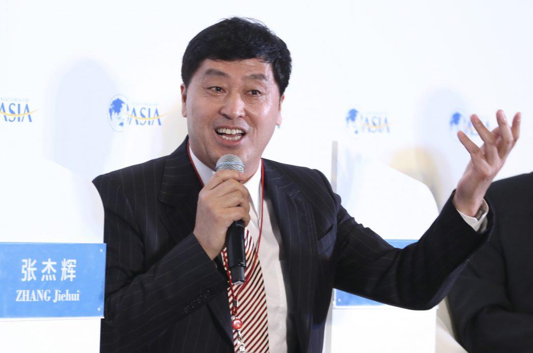 Zhang Jiehui, gouverneur adjoint du Hebei lors de la conférence annuelle du Boao Forum le 22 mars 2016. Sa mise en examen a été actée le12 décembre dernier.