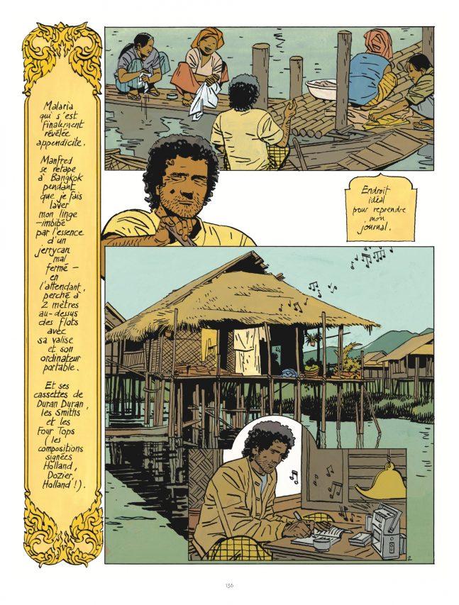 """Jonathan est en Birmanie dans la bande dessinée """"Elle"""", par Cosey, éditions Le Lombard. (Crédit : Le Lombard)"""