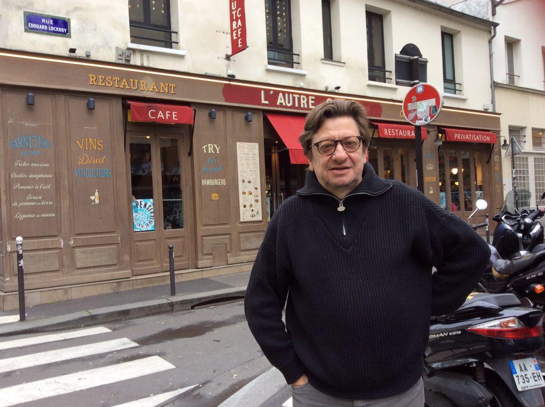 Bruno Philip, correspondant du Monde en Asie du Sud-Est, de passage à Paris. (Crédits : Stéphane Lagarde, Asialyst)
