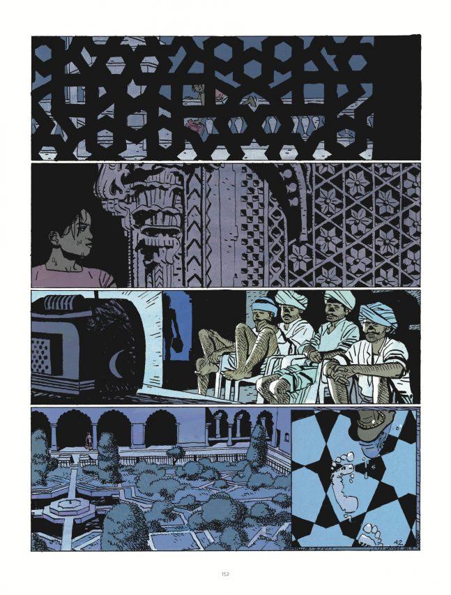 """Cosey emmène son lecteur en Inde dans """"Celle qui fut"""", éditions Le Lombard. (Crédit : Le Lombard)"""
