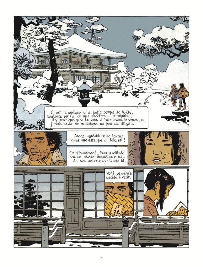 """Jonathan au Japon dans """"Atsuko"""", par Cosey, éditions Le Lombard. (Crédit : Le Lombard)"""