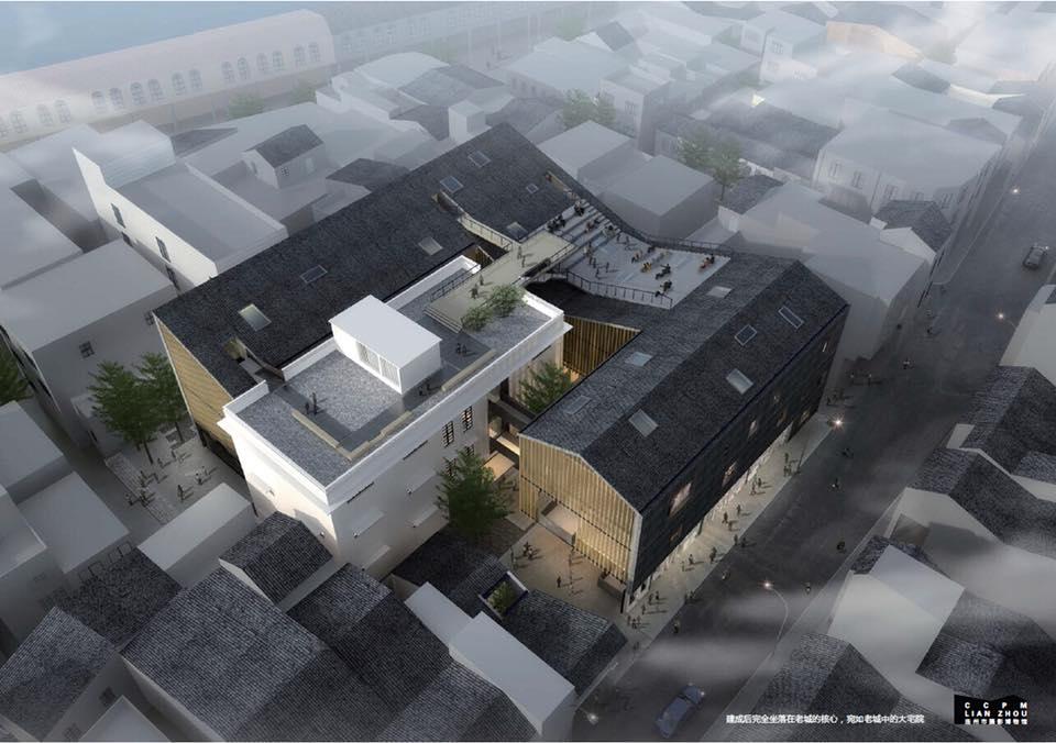 Plan du Musée de la photographie de Lianzhou. (Courtesy of Lianzhou Foto)