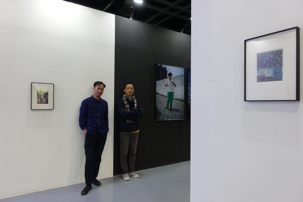Sun Yanchu et Feng Li, les deux photographes nominés par Thomas Sauvin pour le Jimei X Arles Discovery Award. (Courtesy of Thomas Sauvin)