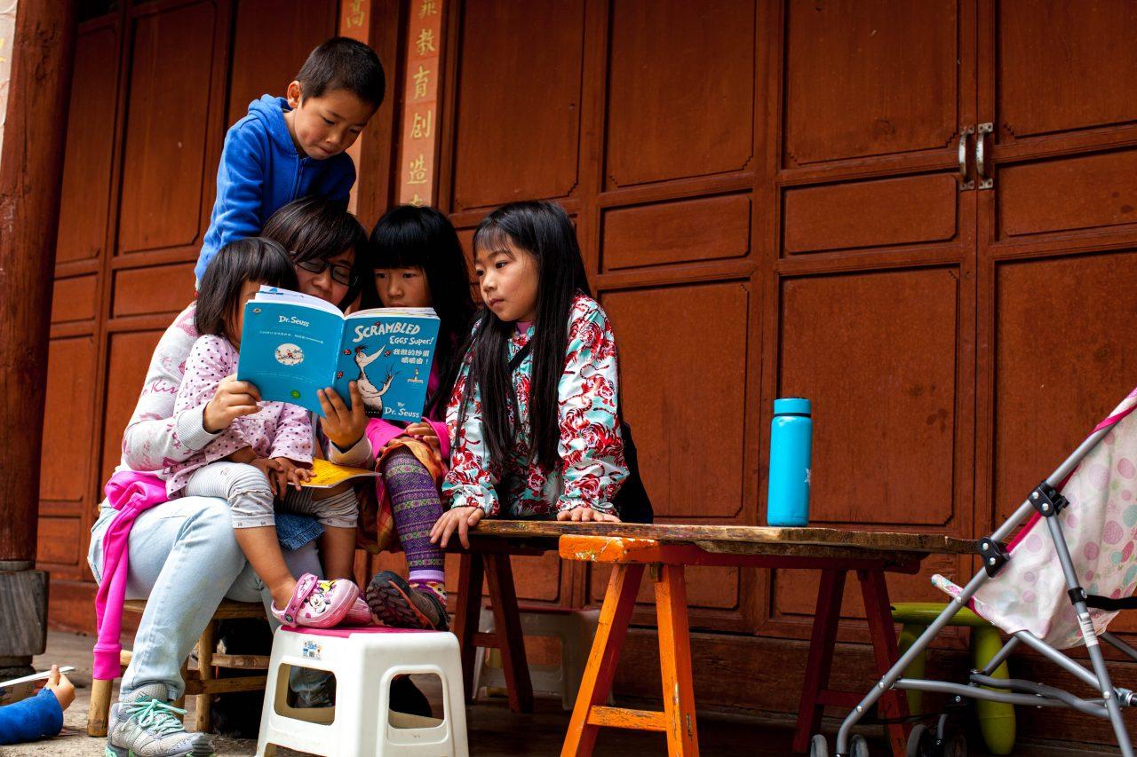 Une école libre à Dali, dans la province chinoise du Yunnan.