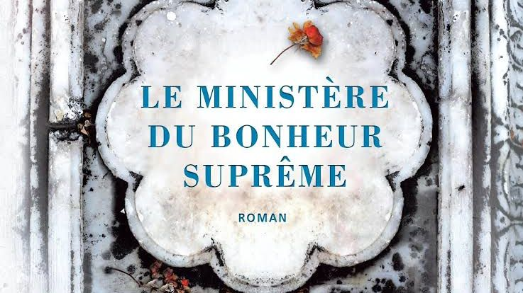 """Couverture du """"Ministère du bonheur suprême"""" d'Arundhati Roy, chez Gallimard. (Source : France Bleu)"""