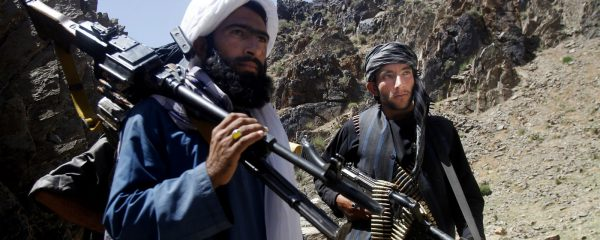 Combattants Taliban dans le district de Shindand, province afghane de Herat. (Source : Mint Press news)