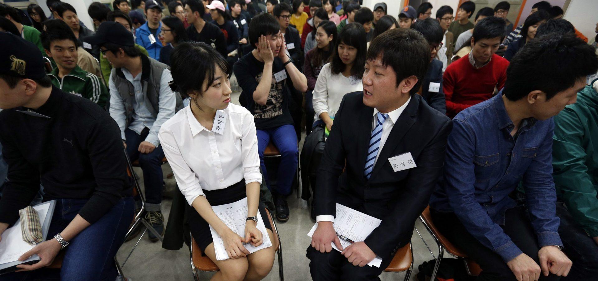 De plus en plus de jeunes coréens n'hésitent plus à démissionner, même d'un emploi bien payé. (Source : Quartz)