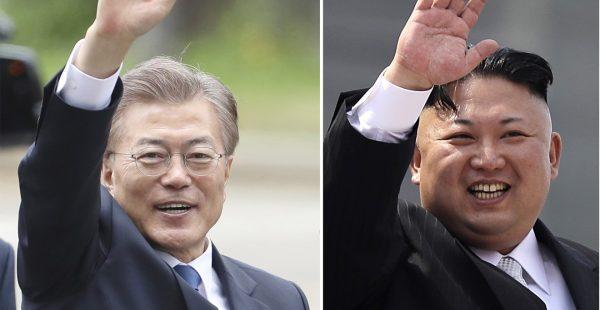Le président sud-coréen Moon Jae-in rencontre ce vendredi 27 avril son homologue nord-coréen Kim Jong-un. (Source : South China Morning Post)