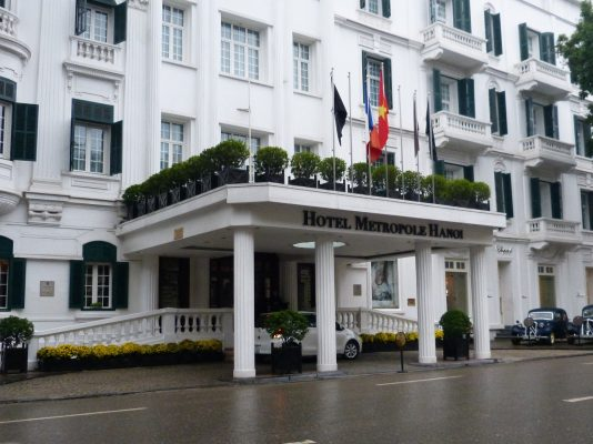 L'Hôtel Metropole à Hanoi. (Source : Hanoi City Break)