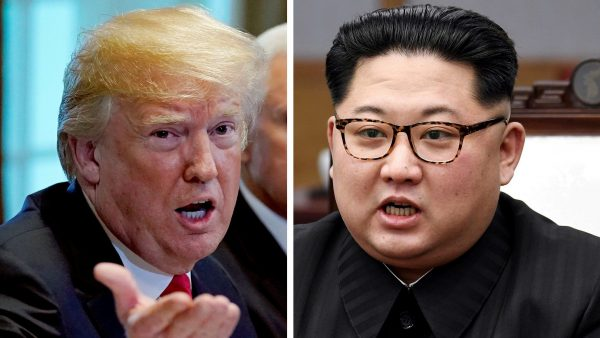 Viendra, viendra pas... Le président américain Donald Trump et le leader nord-coréen Kim Jong-un doivent se rencontrer (ou pas) à Singapour le 12 juin 2018. (Source : Quartz)