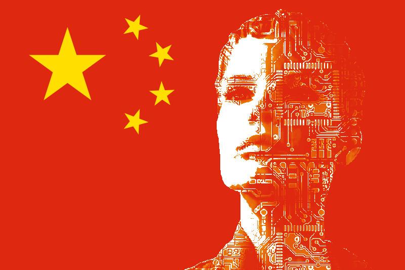 """Pékin a lancé en juillet 2017 un """"Plan de développement de l'intelligence artificielle pour la prochaine génération"""", dont l'objectif fixé au secteur privé comme aux universités est de faire de la Chine """"premier centre d'innovation au monde"""" d'ici 2030. (Source : Blog Picture Science)"""