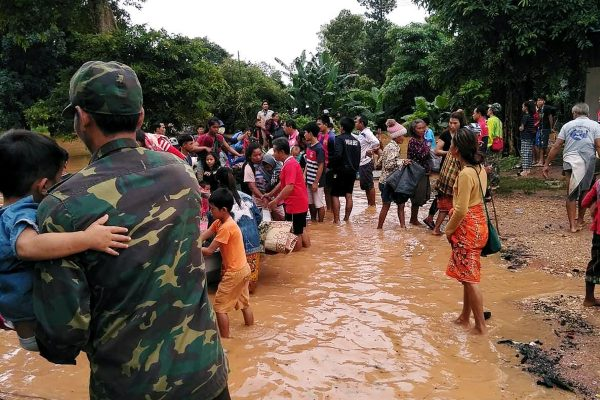 Le 23 juillet 2018, l'effondrement du barrage de Xe Pian-Xe Nam Noy dans le sud du Laos, a englouti sept villages. (Source : The Independent)