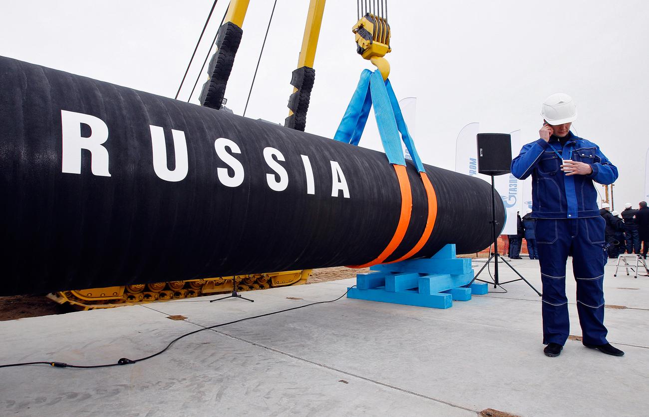 """Long de plus de 3 000 kilomètres, le gazoduc """"Force de Sibérie"""" relie désormais plusieurs gisements gaziers russes de Yakoutie (République de Sakha) au nord-est de la Chine. (Source : Russia Beyond)"""