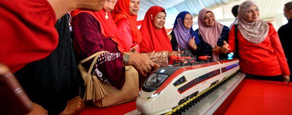 """En Malaisie, le nouveau Premier ministre Mahathir Mohamad souhaite revoir à la baisse les grands projets avec la Chine dans le cadres des """"Nouvelles Routes de la Soie"""". (Source : South China Morning Post)"""