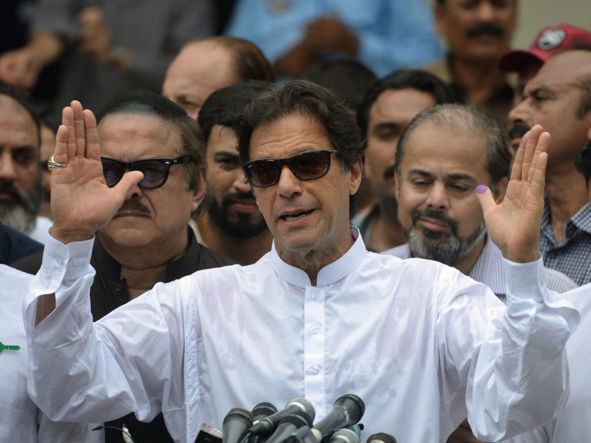 L'ancien capitaine de l'équipe nationale de cricket, Imran Khan est devenue le 19ème Premier ministre du Pakistan le 11 août 2018. (Source : 91.3 WESM)