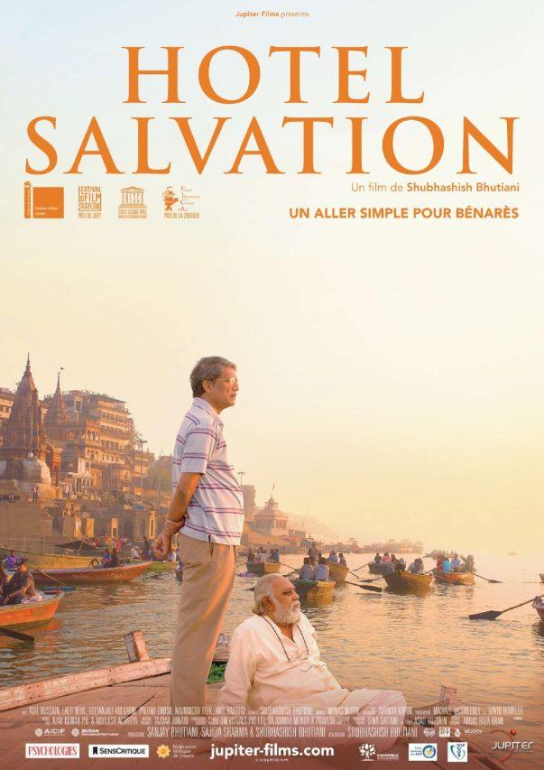 """Affiche du film """"Hotel Salvation"""", réalisé par Shubhashish Bhutiani. (Crédits : DR)"""