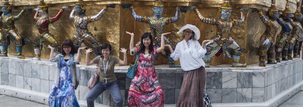 """Les """"Zero dollar tours"""" organisés par les tours-opérateurs chinois ont participé à déclencher la vague touristique de Chine en Thaïlande. (Source : South China Morning Post)"""