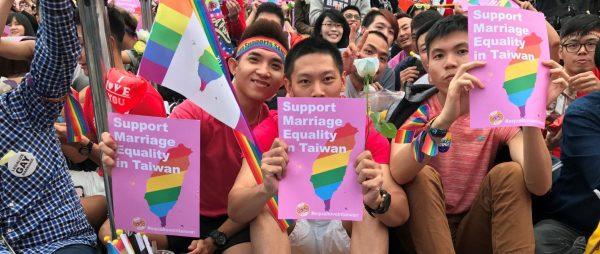 La légalisation du mariage gay à Taïwan, qui veut se montrer comme le pays des libertés en Asie, est un argument soft power. (Source : Medium)