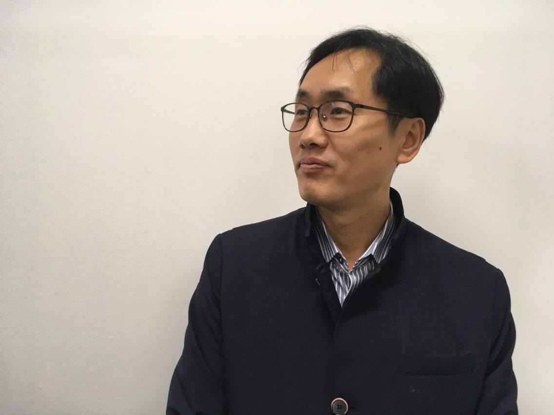 Jang Chang-jun, professeur de Sciences Politiques à l'Université Hanshin à Séoul. (Crédits : Asialyst / Stéphane Lagarde)