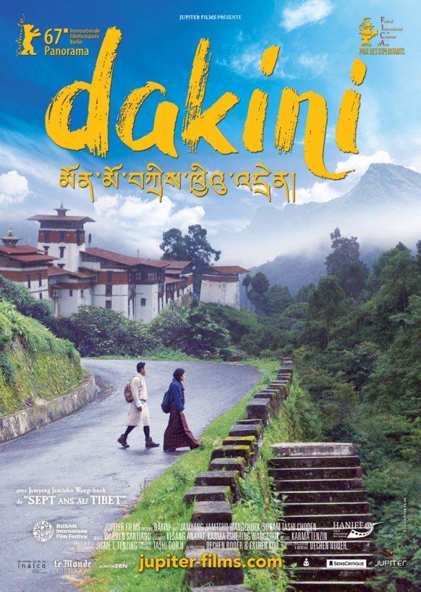 """Affiche du film bouthanais """"Dakini"""", écrit et réalisé par Dechen Roder. (Copyright : Jupiter Films)"""