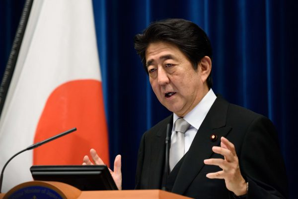 Le Premier ministre japonais Shinzo Abe. (Source : South China Morning Post)