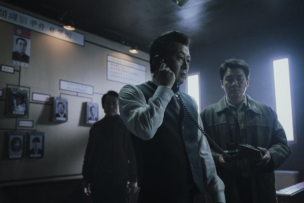 "Scène du film ""1987, When the day comes » de Jang Joon-Hwan. (Crédit : Jang Joon-Hwan)"