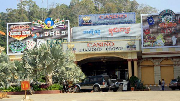 Casino à Pailin au Cambodge. La ville frontalière avec la Thaïlande a aujourd'hui fortement développé son industrie du jeu. (Source : Far East Vacation)