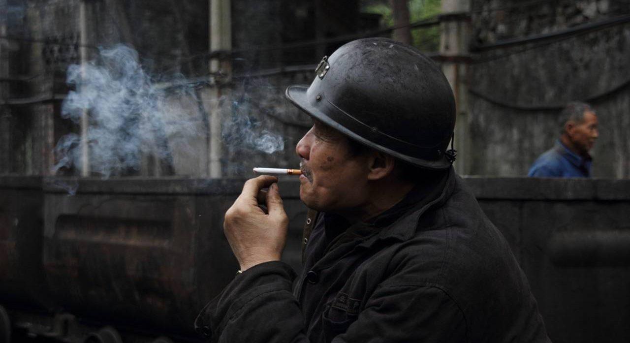Mineur chinois dans la province du Shaanxi au nord-est de la Chine. (Source : Sxcoal)