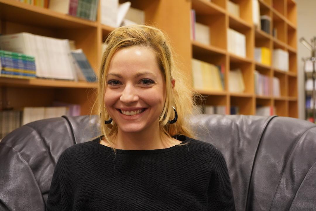 La chercheuse Eugénie Mérieau. (Crédit : Marine Jeannin)