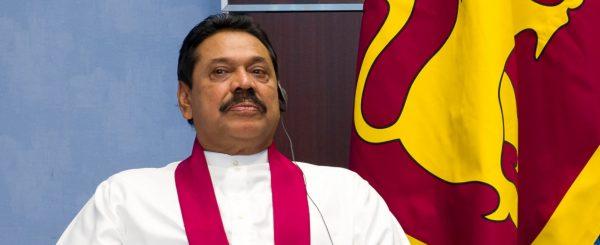 L'ancien président sri-lankais Mahinda Rajapaksa. (Source : Engage)