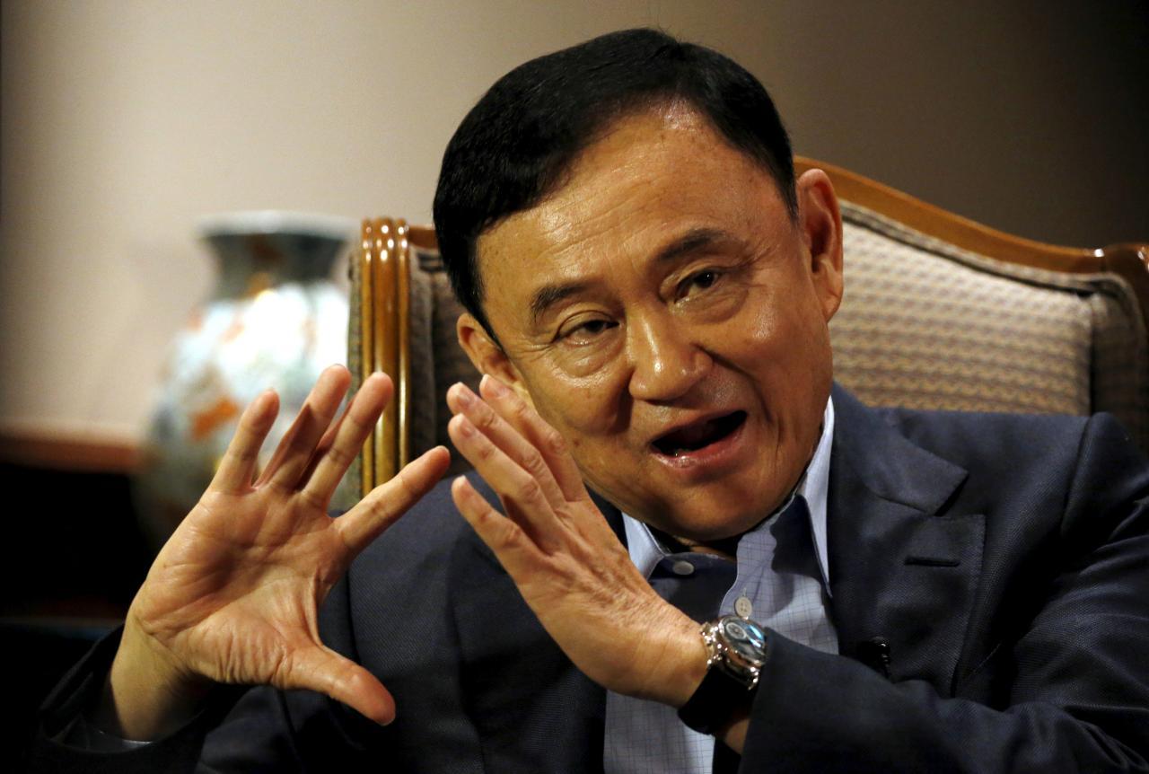 L'ancien Premier ministre thaïlandais Thaksin Shinawatra à Singapour, le 23 février 2016. (Source : Reuters Media)