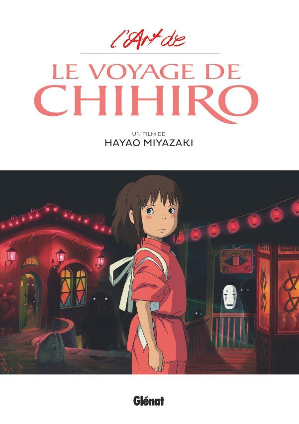 """Couverture de la bande dessinée """"L'art de Le voyage de Chihiro"""", Hayao Miyazaki, Glénat. (Copyright : Glénat)"""