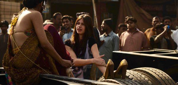 """L'actrice indienne Kalki Koechlin dans le film """"Azmaish"""" de la réalisatrice pakistanaise Sabiha Sumar. (Crédits : Zeeshan Haider ©Vidhi-Films)"""