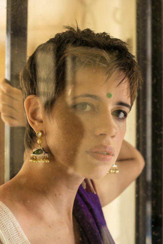 L'actrice franco-indienne Kalki Kœchlin. (Copyright : Chitrangada Chakroborty)