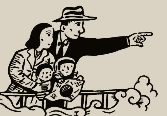 """Couverture de la bande dessinée """"Le livre de Jessie, Journal de guerre d'une famille coréenne"""", scénario et dessin Park Kun-Woong, Casterman. (Copyright : Casterman)"""