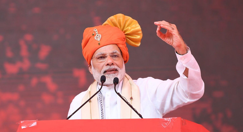Le Premier ministre indien joue sa réélection en mai aussi sur le front de l'emploi. (Source : DD News)