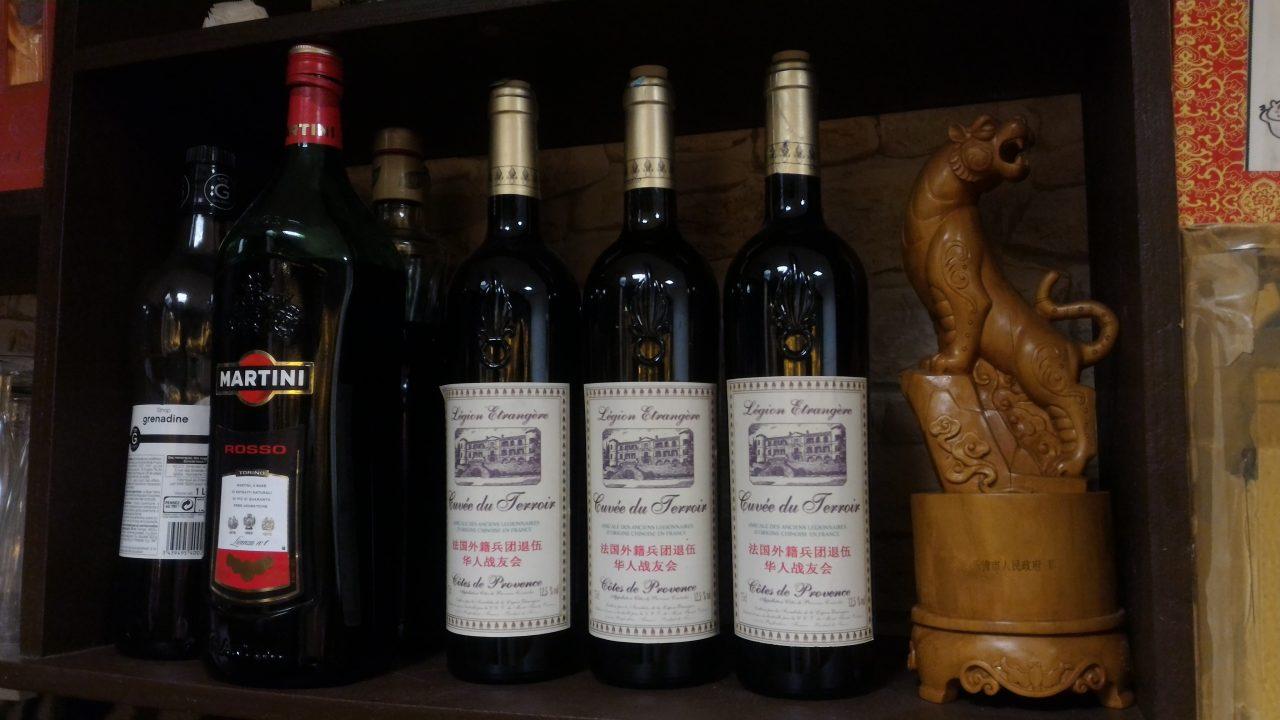 Le vignoble du capitaine d'Anjou est propriété de la légion étrangère. (Copyright : Alice Hérait)