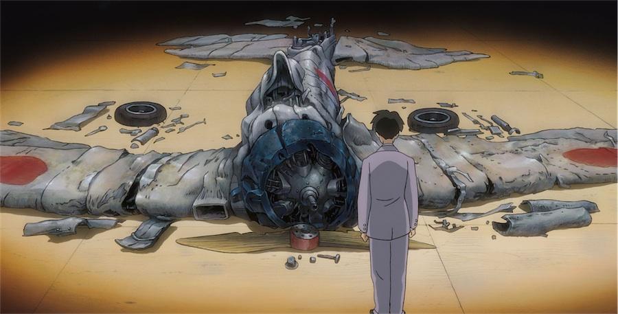 """Extrait du manga animé """"Le Vent se lève"""" du réalisateur japonais Hayao Miyazaki. (DR)"""