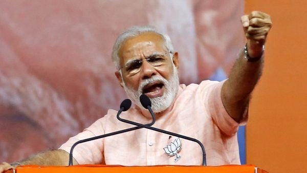 Le Premier ministre indien est loin d'être sûr de sa réélection lors des législatives d'avril et mai 2019. (Source : Asia Nikkei)